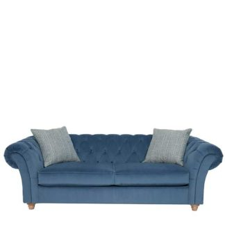 An Image of Maddox Extra Large Chesterfield Sofa - Barker & Stonehouse