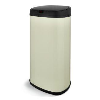 An Image of Tower 42 Litre Sensor Bin - Cream
