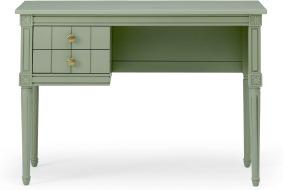 An Image of Bourbon Vintage Compact Desk, Sage Green
