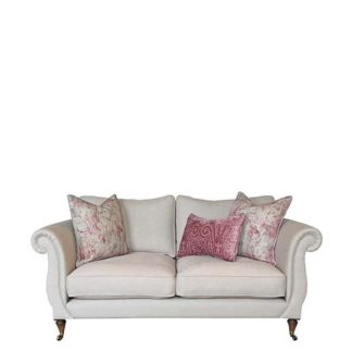 An Image of Drew Pritchard Atherton Standard Back 2 Seater Sofa - Barker & Stonehouse