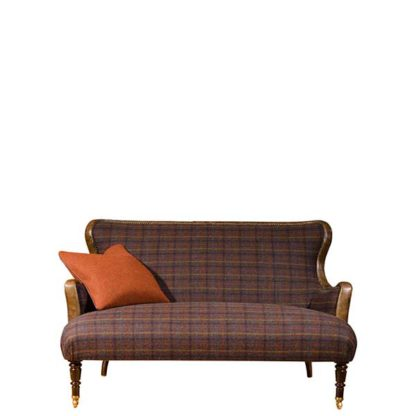 An Image of Harris Tweed Nairn Compact Sofa - Barker & Stonehouse