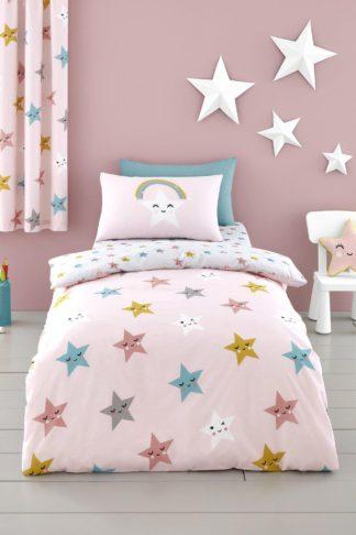 An Image of Happy Stars Single Duvet Set
