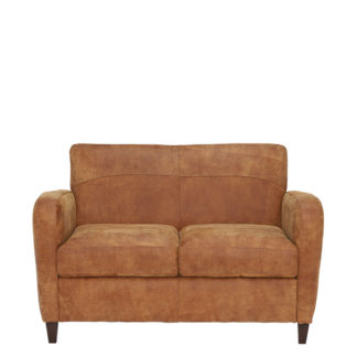 An Image of New Galveston Leather Loveseat - Barker & Stonehouse