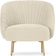 An Image of Ilana Accent Armchair, Macaron Velvet