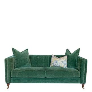 An Image of Drew Pritchard Foxley 3 Seater Sofa - Barker & Stonehouse