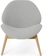 An Image of Laluni Accent Armchair, Luna Grey Weave