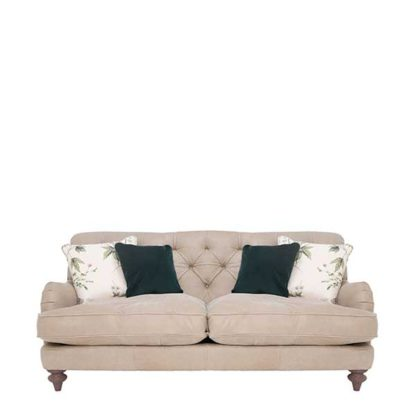 An Image of Windermere Leather Medium Sofa - Barker & Stonehouse