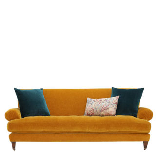 An Image of Drew Pritchard Durant 4 Seater Sofa - Barker & Stonehouse