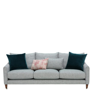 An Image of Drew Pritchard Harling 4 Seater Sofa - Barker & Stonehouse