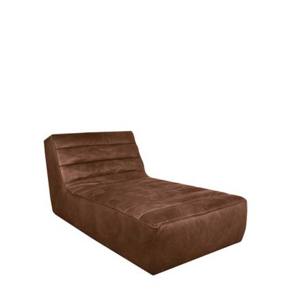 An Image of Timothy Oulton Shabby Chaise - Barker & Stonehouse