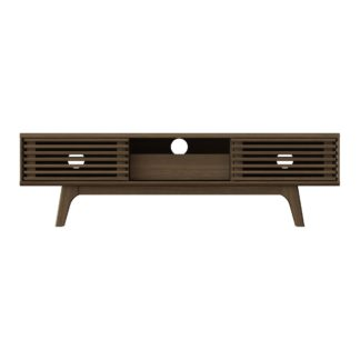 An Image of Copen Wide TV Stand Brown