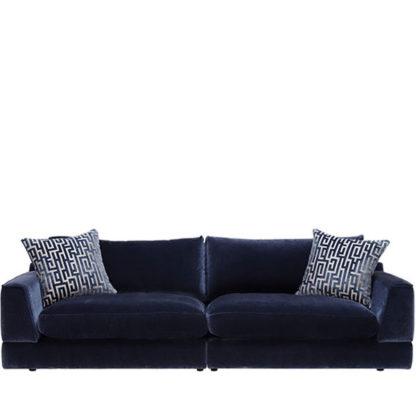 An Image of Vesta Extra Large Split Frame Sofa Foam Upgrade - Barker & Stonehouse