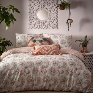 An Image of Cosmo Paisley Double Duvet Set