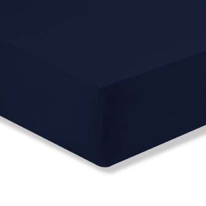 An Image of Super Soft Fitted Sheet White