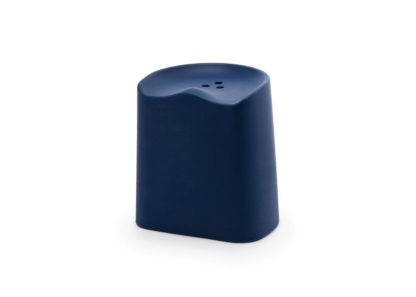 An Image of Established & Sons Butt Low Stool Orange