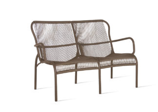 An Image of Vincent Sheppard Loop Outdoor Sofa Taupe