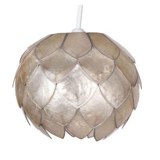 An Image of Capiz Bud Lamp Shade - Champagne