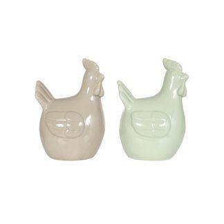 An Image of Ceramic Chicken Garden Ornament - 25cm