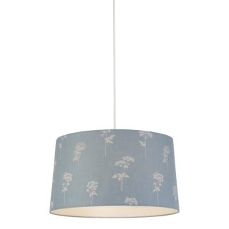 An Image of Annabelle Cotton Drum Shade - 45cm
