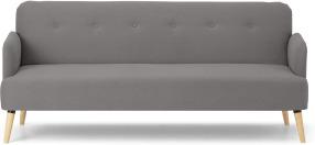 An Image of Elvi Click Clack Sofa Bed, Marshmallow Grey