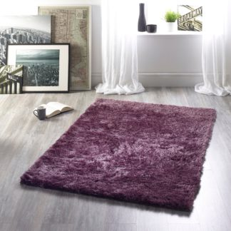 An Image of Shimmer Rug Purple
