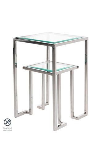 An Image of Anta Silver Side Table