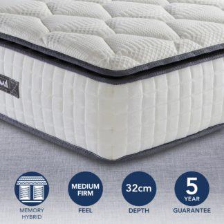An Image of Sleepsoul Bliss 800 Pocket Single Mattress White