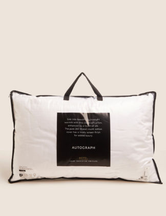 An Image of M&S Autograph Touch of Silk Firm Pillow