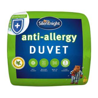 An Image of Silentnight Antiallergy 4.5 Tog Duvet Single