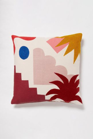 An Image of Cosmo Embroidered Cushion