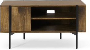 An Image of Morland Compact TV Unit, Mango Wood