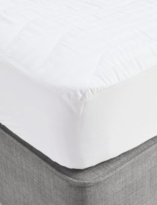 An Image of M&S Autograph Touch of Silk Mattress Protector