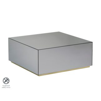 An Image of Hallie Smoked Mirror Coffee Table