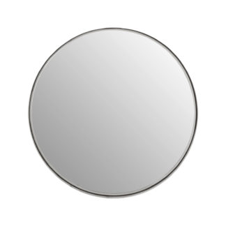 An Image of Annika Small Round Recessed Mirror