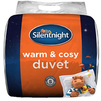 An Image of Silentnight Warm & Cosy Duvet 13.5 Tog - Double