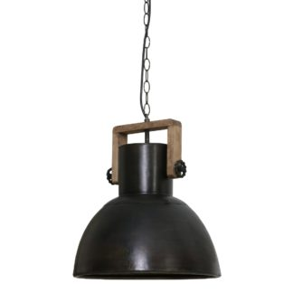 An Image of Black Dome Pendant
