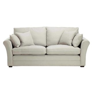An Image of Berkeley Fabric Fixed Cover Large Sofa