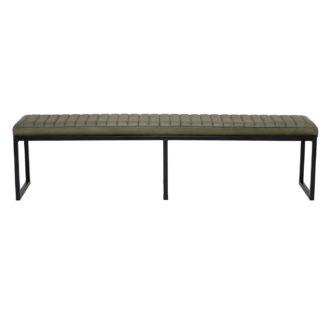 An Image of Brutus 180cm Leather Bench
