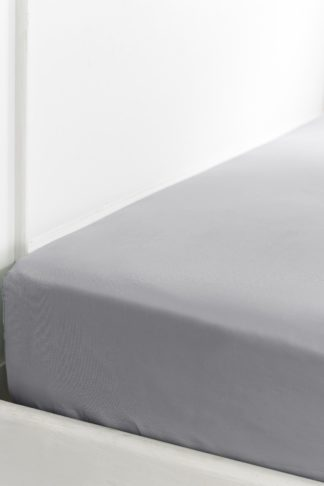 An Image of 400tc Cotton Sateen Superking Fitted Sheet