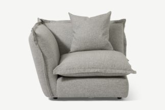 An Image of Fernsby Corner Modular Chair, Silver Recycled Weave