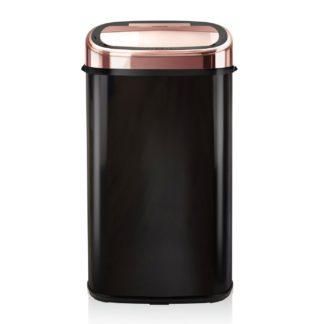 An Image of Tower 58L Sensor Bin - Rose Gold & Black