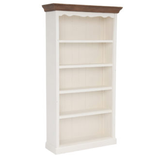An Image of Berkshire Reclaimed Wood Medium 5 Shelf Bookcase
