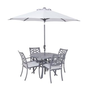 An Image of Tuscany 4 Seater Garden Dining Set