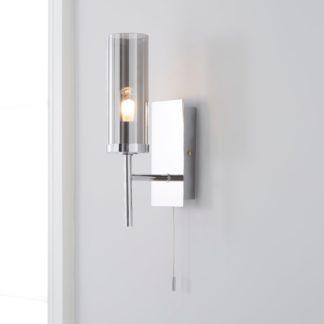 An Image of Hotel Chelsea Bathroom Wall Light Chrome