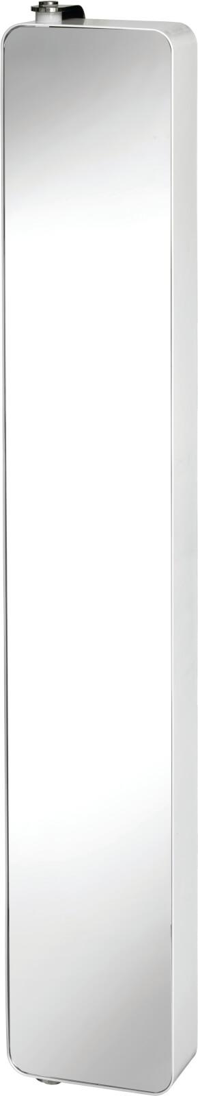 An Image of Croydex Arun Tall Bathroom Cabinet with Pivoting Door