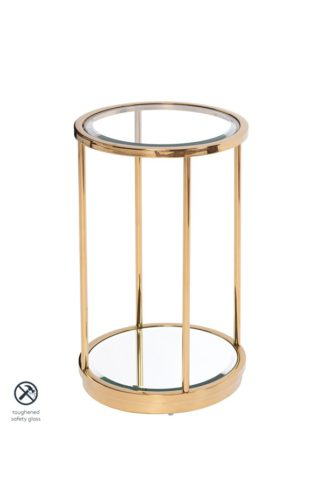 An Image of Rippon Brass Circular Side Table