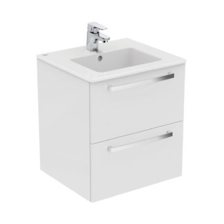 An Image of Ideal Standard Tempo 60cm Vanity Unit Pack - Gloss White