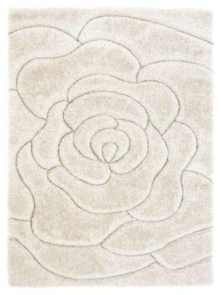 An Image of Fresno Rose Rug - 160x230cm - Cream
