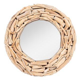 An Image of Romana Reclaimed Wood Mirror