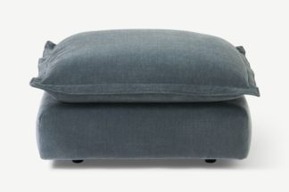 An Image of Fernsby Footstool, Atlantic Chenille